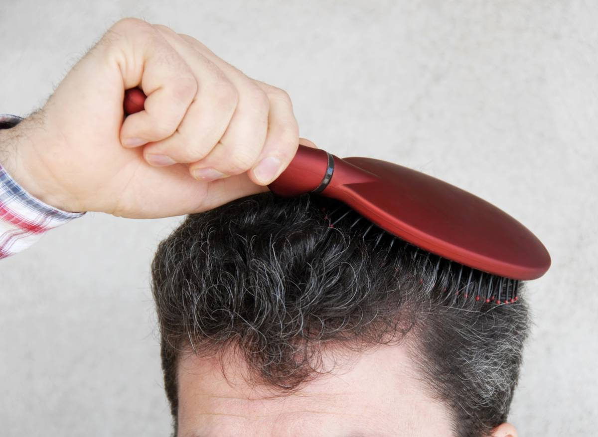 Importance of brushing your hair.